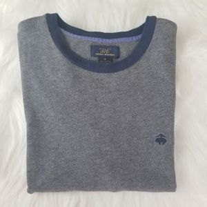 Brooks Brothers 346 Gray Long Sleeve Tee  SW